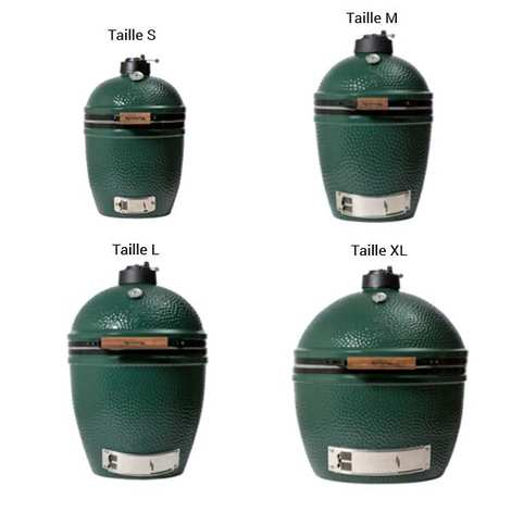 Big Green Egg - Barbecue Big Green Egg - tailles S à XL
