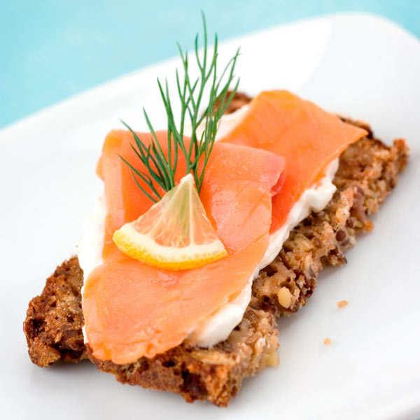 Smoked salmon organic - whole filet