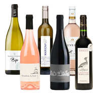 BienManger paniers garnis - 6 Assorted Organic Wines from France