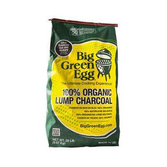 Big Green Egg - Charbon de bois bio premium Big green egg