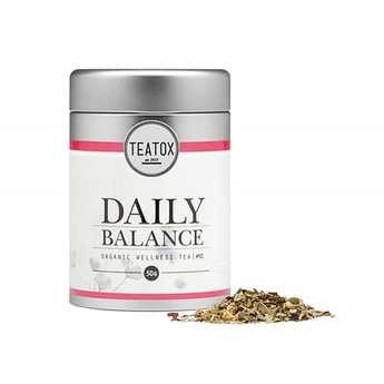Teatox - Organic Daily Balance - Lemon Flavor Tea