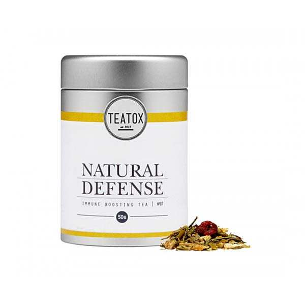 Natural defense - thé vert bio au gingembre