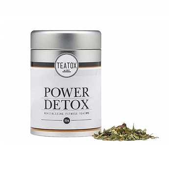 Teatox - Power Detox - thé bio vert guarana et aronia