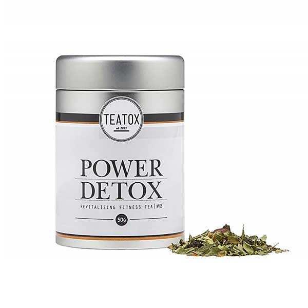 Power Detox - thé bio vert guarana et aronia