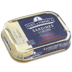 La pointe de Penmarc'h - Sardines with aromatics and spices in olive oil
