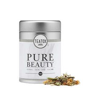 Teatox - Pure beauty - thé blanc bio, citronnelle et gingembre