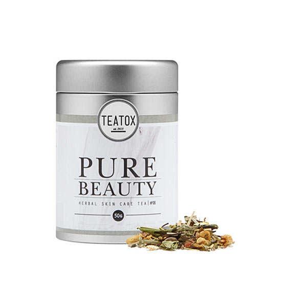 Pure beauty - thé blanc bio, citronnelle et gingembre