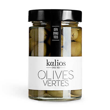 Kalios - Pitted Greek Green Olives
