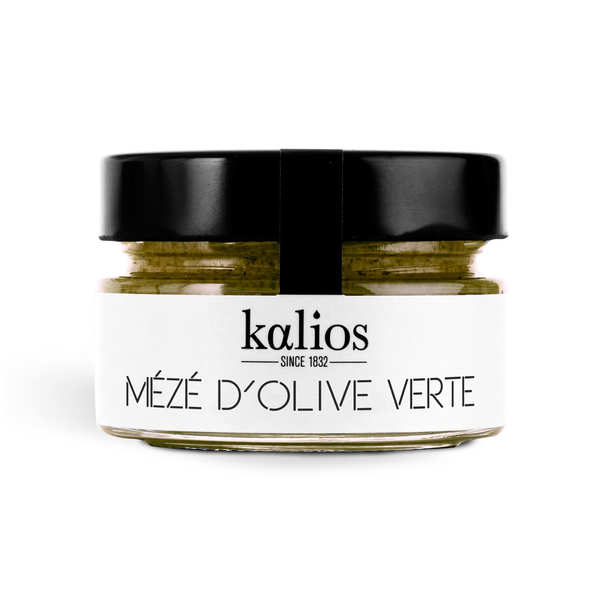 Cream of Greek Green Olives