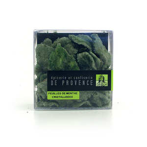 Epicerie de Provence - Crystallized mint leaves