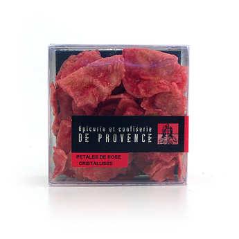Epicerie de Provence - Pétales de rose cristallisés