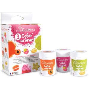 ScrapCooking ® - Color'arôme frambroise, abricot et pistache