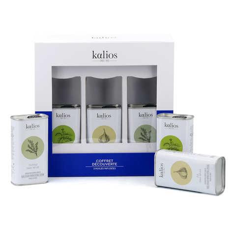 Kalios - Coffret découverte huile, olives et mezzé de Grèce