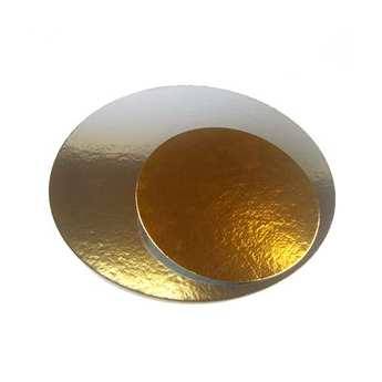 Fun Cakes - Cake Boards Silver/Gold Round