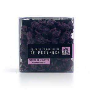 Epicerie de Provence - Fleurs de violettes cristallisées