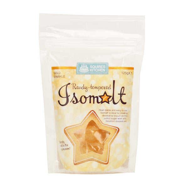 Isomalt gold
