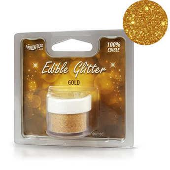 Rainbow Dust - Edible Glitter - Gold
