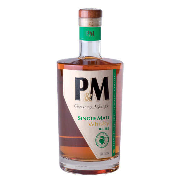 P&M Blended Vintage whisky from Corsica - 40%