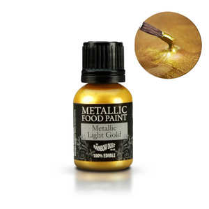 Rainbow Dust - Metallic Food Paint - Gold
