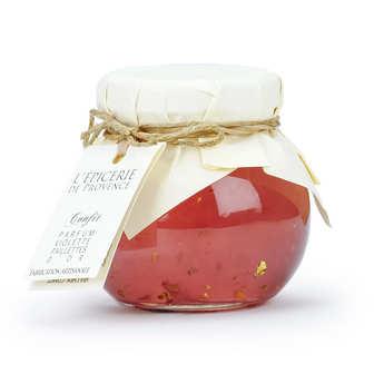Epicerie de Provence - Violet Jam with Gold Flakes - 125g