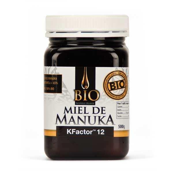 Miel de Manuka actif Bio TPA 12+