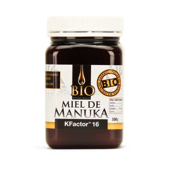 Organic Manuka honey TPA 16+