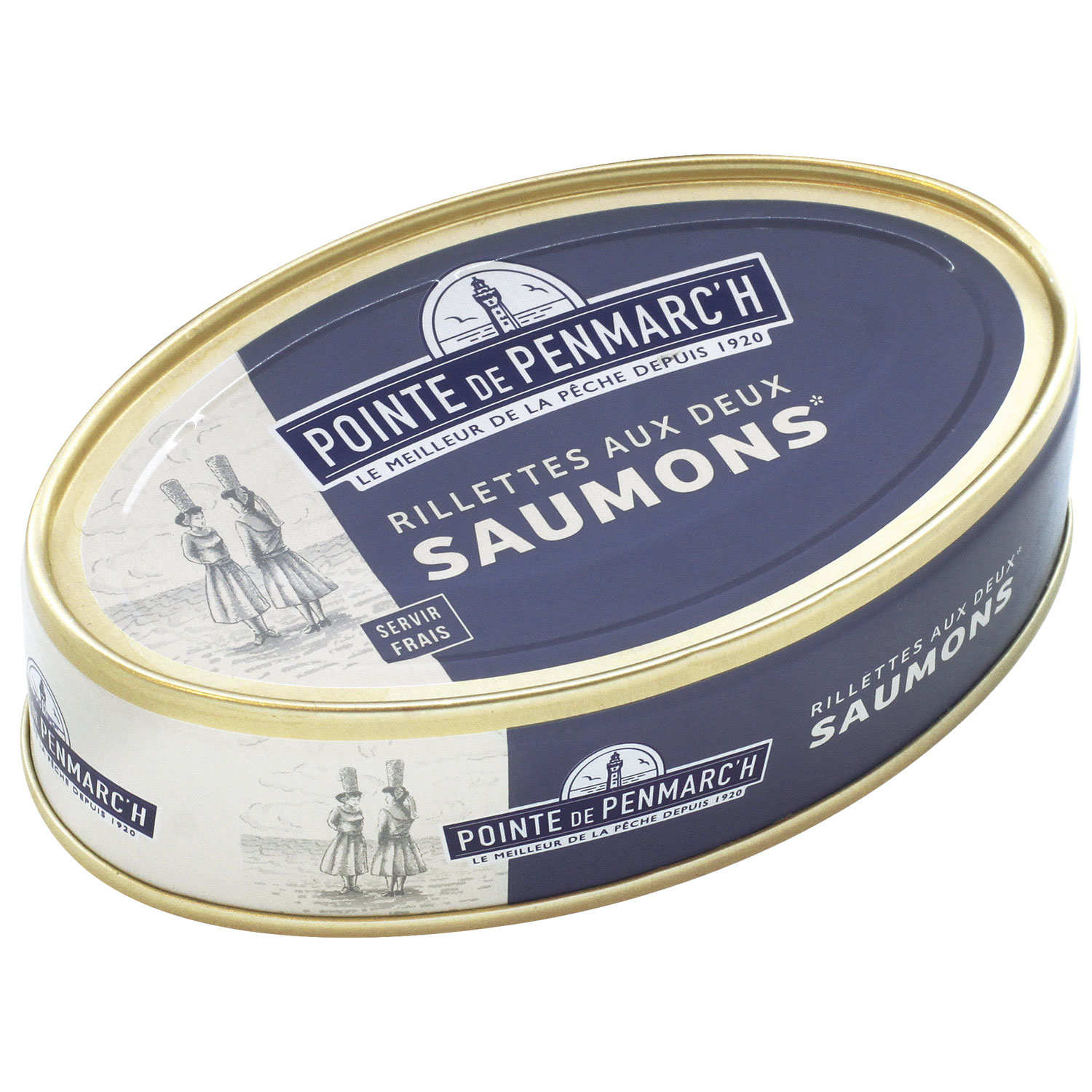 Salmon Rillettes from Brittany