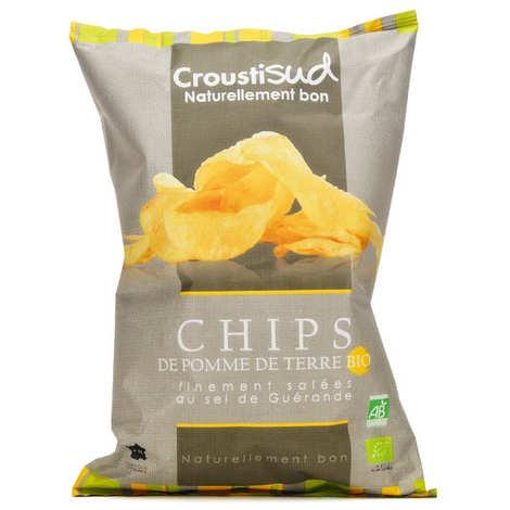 Croustisud - Chips de pomme de terre finement salées bio