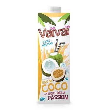 Vaïvaï passion – L'eau de coco  aux fruits de la passion 1L