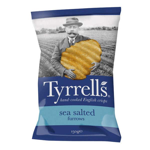 Chips ondulées au sel de mer