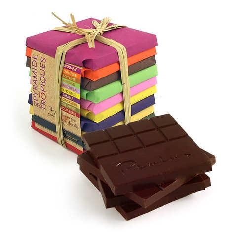Chocolats François Pralus - La pyramide des Tropiques - Pralus