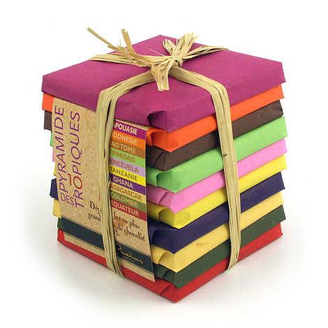 Chocolats François Pralus - Tropical Chocolate Pyramid by Pralus