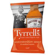 Tyrrells - Chips sauce Worcestershire et tomates confites