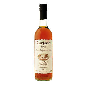 Cartavio - Rhum Cartavio 12 ans Solera – 40%