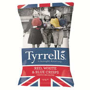 Tyrrells - Red, White, Blue Crisps