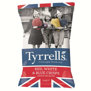Tyrrells - Chips bleues, blanches et rouges