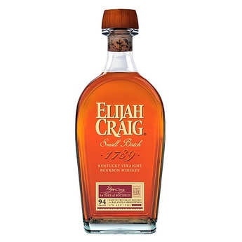 Elijah Craig - Whisky Elijah Craig 12 ans straight bourbon du Kentucky – 47%