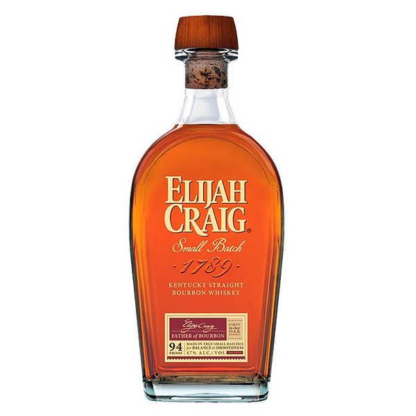 Whisky Elijah Craig 12 ans straight bourbon du Kentucky – 47%