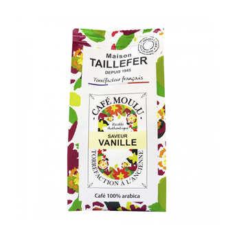 Maison Taillefer - Café moka moulu saveur vanille