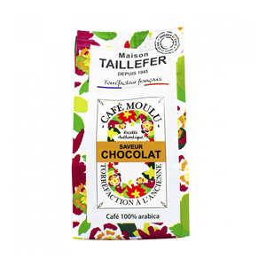 Maison Taillefer - Café moka moulu saveur chocolat