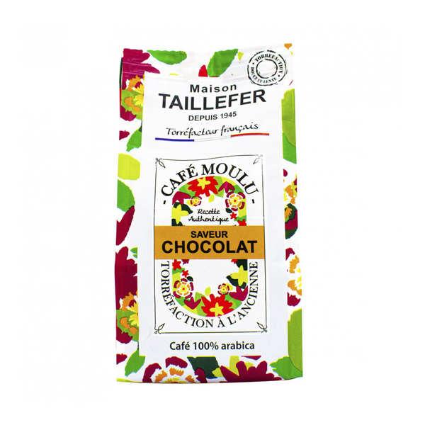 Café moka moulu saveur chocolat