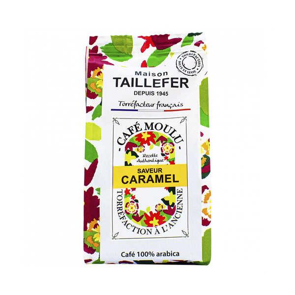 Café moka moulu saveur caramel