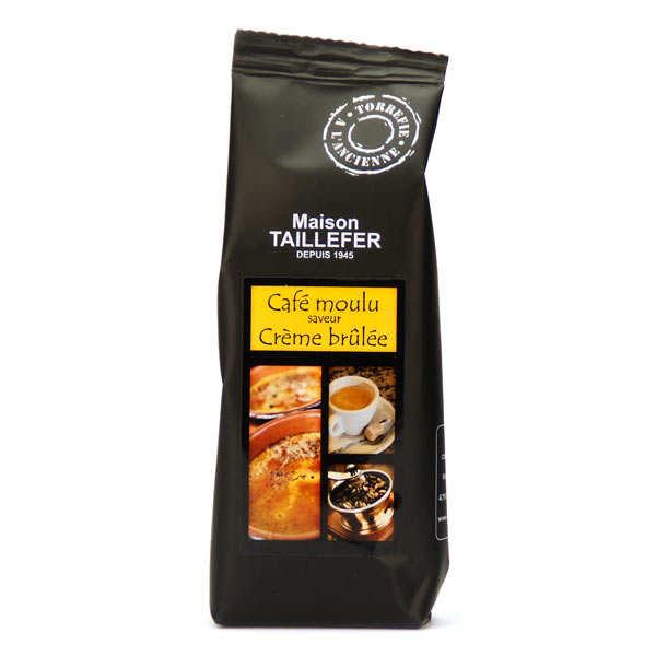 Coffee Crème Brulée flavor