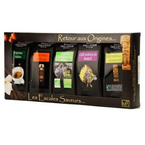Maison Taillefer - Coffret café moulu grandes origines