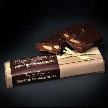 Chocolats François Pralus - Barre infernale noire - Pralus