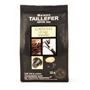 Maison Taillefer - Coffee Vanille Flavor Nespresso® Compatible Caps