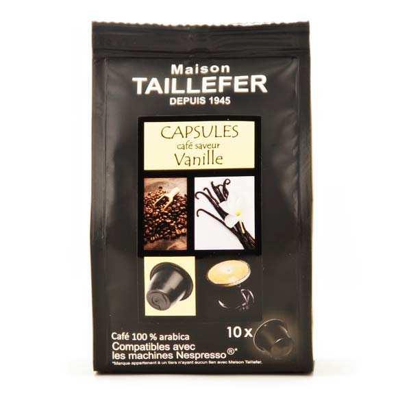 Coffee Vanille Flavor Nespresso® Compatible Caps