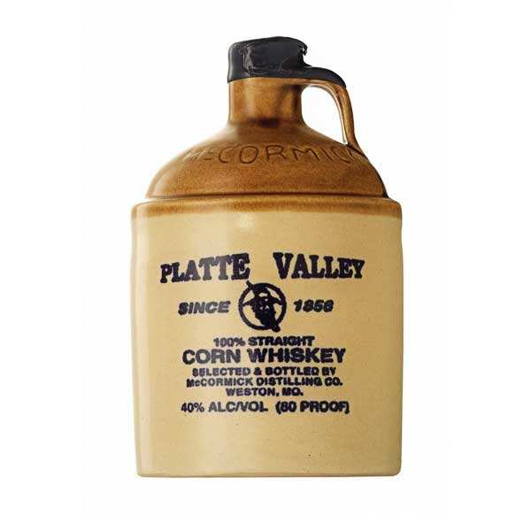Platte Valley Corn whiskey  40%