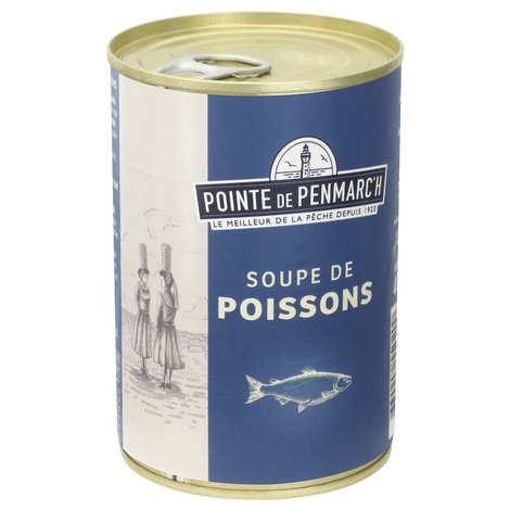 La pointe de Penmarc'h - Soupe de poisson aux carottes et à la tomate