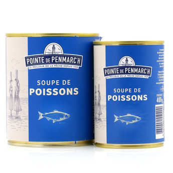 La pointe de Penmarc'h - Fish Soup from Le Guilvinec with carrots and tomatoes